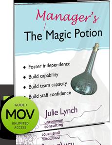 manager's magic potion e-workshop